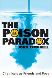 Cover of: The poison paradox
