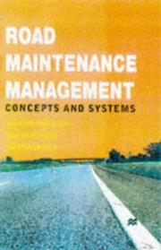 Cover of: Road Maintenance Management: concepts and systems