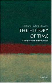 Cover of: The history of time
