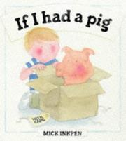 Cover of: If I had a pig