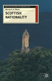 Cover of: Scottish Nationality (British History in Perspective (Palgrave (Firm)).)
