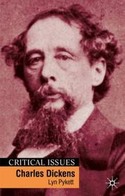 Cover of: Charles Dickens (Critical Issues (Palgrave (Firm)).) | Lyn Pykett