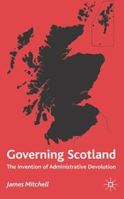 Cover of: Governing Scotland