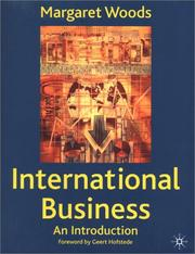 Cover of: International Business | Margaret Woods