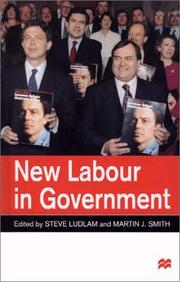 Cover of: New Labour in Government |