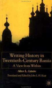 Cover of: Writing history in twentieth-century Russia