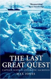 Cover of: The Last Great Quest