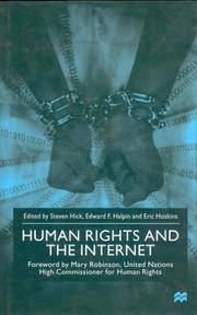 Cover of: Human Rights and the Internet |