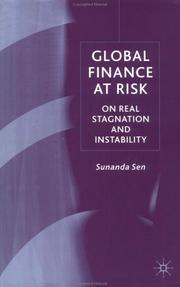 Cover of: Global Finance at Risk