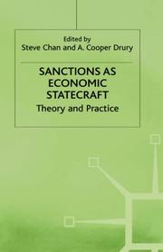 Cover of: Sanctions As Economic Statecraft |