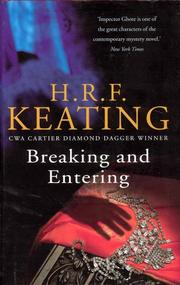 Cover of: Breaking and entering | H. R. F. Keating