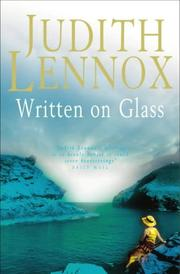 Cover of: Written on glass
