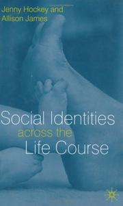 Cover of: Social identities across the life course |