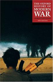 Cover of: The Oxford History of Modern War