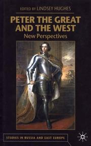 Cover of: Peter the Great and the West |