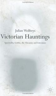 Cover of: Victorian hauntings | Julian Wolfreys