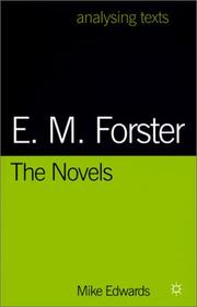 Cover of: E. M. Forster | Mike Edwards