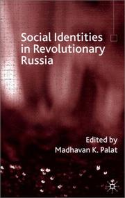 Cover of: Social identities in revolutionary Russia |