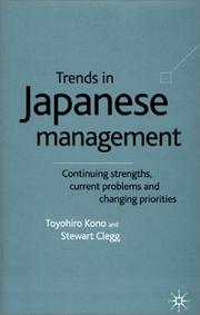 Cover of: Trends in Japanese Management | Toyohiro Kono