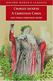 Cover of: A Christmas carol and other Christmas books