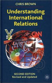 Cover of: Understanding international relations