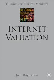 Cover of: Internet Valuation | John Briginshaw