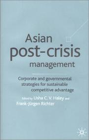 Cover of: Asian post-crisis management |