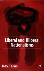 Cover of: Liberal and illiberal nationalisms