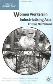 Cover of: Women Workers in Industrialising Asia | Amarjit Kaur