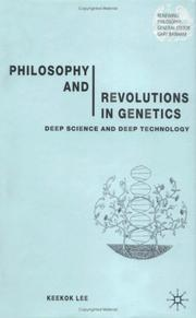 Cover of: Philosophy and Revolutions in Genetics