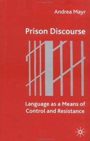 Cover of: Prison Discourse | Andrea Mayr