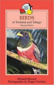 Cover of: Birds of Trinidad and Tobago