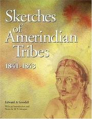 Cover of: Sketches of Amerindian tribes, 1841-1843 | Edward A. Goodall