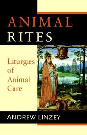 Cover of: Animal Rites | Andrew Linzey