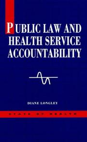 Cover of: Public law and health service accountability