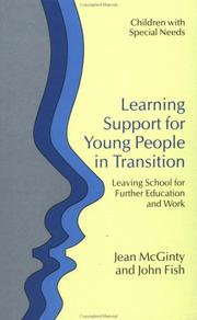 Cover of: Learning support for young people in transition | Jean McGinty