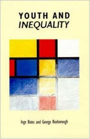 Cover of: Youth and inequality |