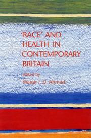 Cover of: Race and health in contemporary Britain |