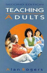 Cover of: Teaching adults