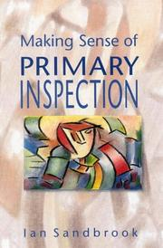 Cover of: Making sense of primary inspection