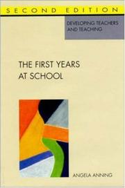 Cover of: The first years at school