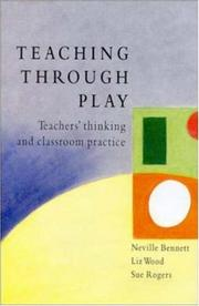 Cover of: Teaching through play
