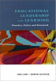 Cover of: Educational leadership and learning |