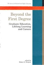Cover of: Beyond the first degree