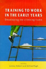 Cover of: Training to Work in the Early Years |