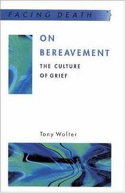 Cover of: On Bereavement (Facing Death)