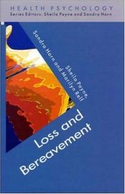 Cover of: Loss and Bereavement (Health Psychology)
