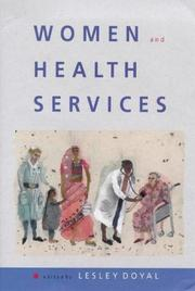 Cover of: Women and health services
