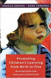 Cover of: Promoting Children's Learning From Birth To Five