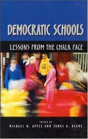 Cover of: Democractic Schools